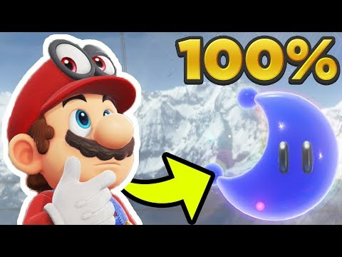 Super Mario Odyssey - Wooded Kingdom ALL 76 POWER MOON LOCATIONS! [100% Guide]
