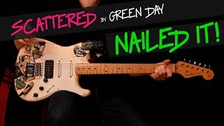 Gambar cover Scattered - Green Day guitar cover by GV + chords