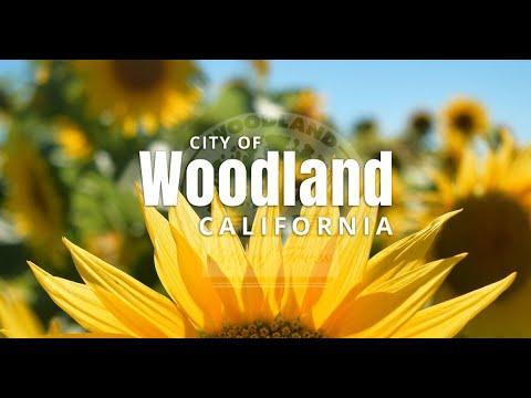 City of Woodland California in Yolo County - Community Video - Historic Main Street - Homes - Area
