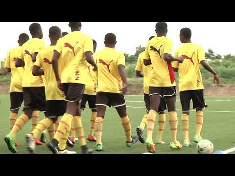 Black Starlets training ahead of 2017 FIFA U17 World Cup in India