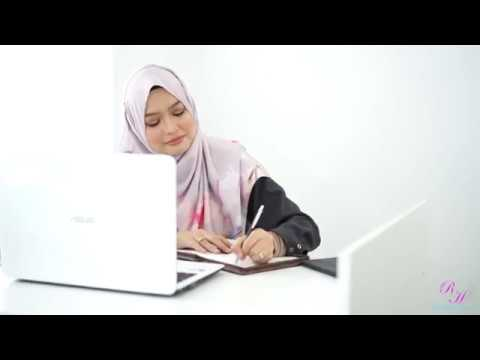 Rayyan Haya Raisya Stripe Office Wear & Straight Cut Office Pants