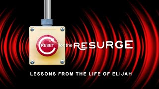 Reset for the Resurge - You Are The Right Person