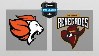 CS:GO - Selfless vs. Renegades [Cache] Map 1 - ESL Pro League Season 5 - NA Matchday 15 thumbnail