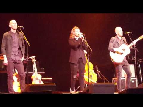 Brandi Carlile performs a new song for the first time live in Birmingham, Al. 4/21/2017