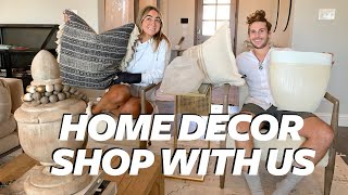 SHOP WITH US AT HOMEGOODS! Modern Bohemian Farmhouse | Julia & Hunter