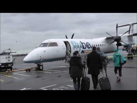 Flybe BE104 Amsterdam (AMS) - Birmingham (BHX) Bombardier Dash Q400 Cathay Pacific Codeshare