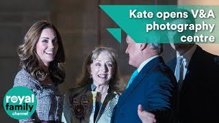 Kate, The Duchess of Cambridge opens V&A photography centre