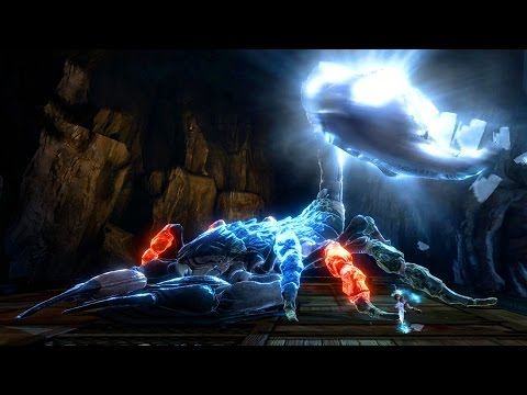 God of War 3 Remastered: Skorpius, Queen of the Scorpions Boss Fight PS4 1080p 60fps