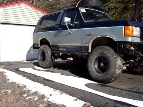 Walk Around 89 Ford Bronco Youtube