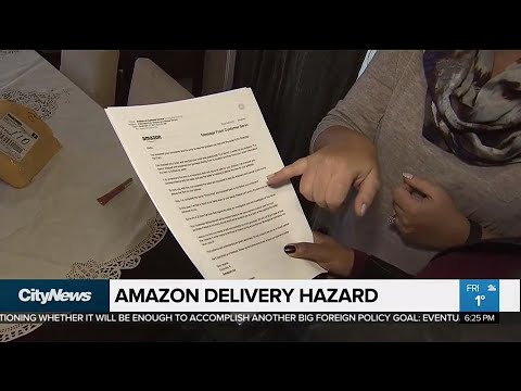 Amazon warns Whitby mom of 'hazardous package' delivered to her home
