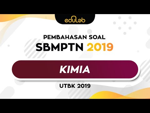 Pembahasan Soal UTBK 2019 (Kimia) Part 1