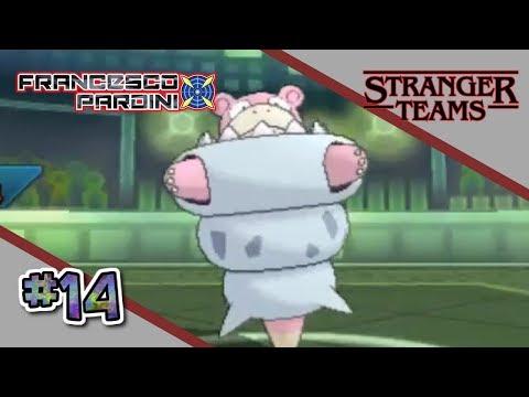 Pokémon USUM : STRANGER TEAMS #14 - Mega Slowbro: l'orgoglio del paguro!