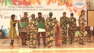 SSBT's Heart touching drama on Indian Soldiers VASANT UTSAV - 2017