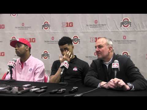 Ohio State's D'Angelo Russell press conference 4 23 15 mpg