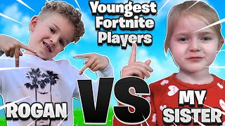 THE YOUNGEST FORTNITE PROS 1V1 (5 YEAR OLDS) *EMOTIONAL LOSS*