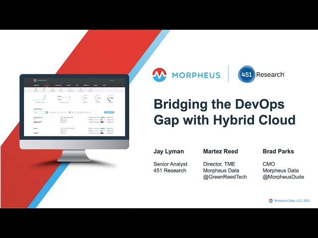 Bridging the DevOps Gap with Hybrid Cloud Automation - Webinar