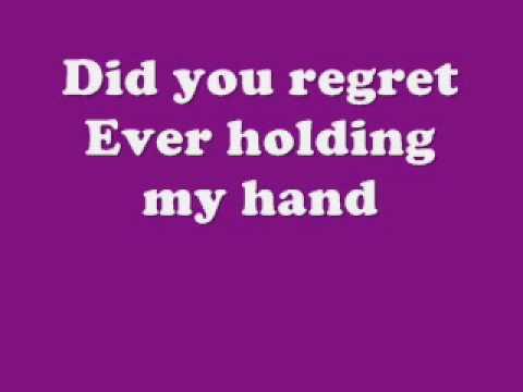 Did you forget lyrics