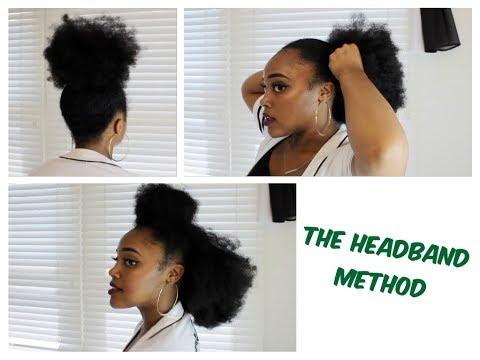 How To Use A Headband For Puffs & Stopping Hair Breakage
