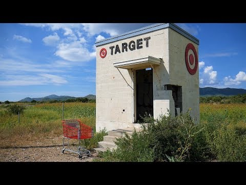 Smallest Abandoned TARGET Store in America