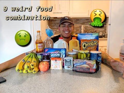 9 WEIRD FOOD COMBINATION