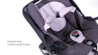 iZi Go™ Car Seat Video, lightweight, for Stokke® Strollers(A lightweight car seat for use from newborn that is compatible with all Stokke® strollers. The Stokke® iZi Go™ by BeSafe® is lightweight, easy to install and to ..., 2013-06-13T11:23:54.000Z)