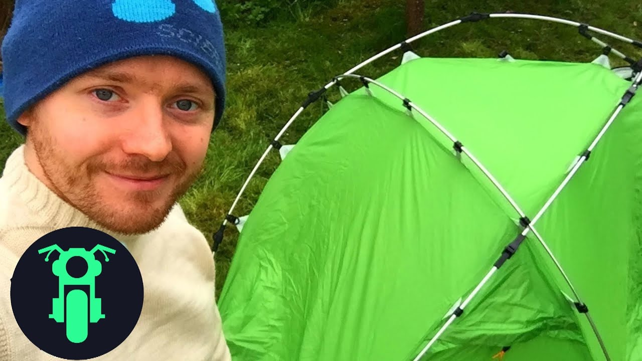 Best Motorcycle Tent 2018 (Slumit INCA1)  sc 1 st  YouTube & Best Motorcycle Tent 2018 (Slumit INCA1) - YouTube