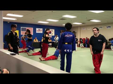 TAE KWAN DO BLACK BELT TESTING KO'S YONGIN MARTIAL ARTS BART