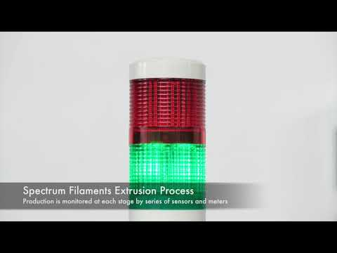 Spectrum Filaments - Extrusion Process