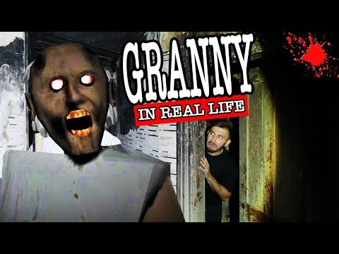 GRANNY HORROR GAME IN REAL LIFE IN A HAUNTED HOUSE AT 3AM | WE FOUND GRANNY'S HOUSE IN REAL LIFE