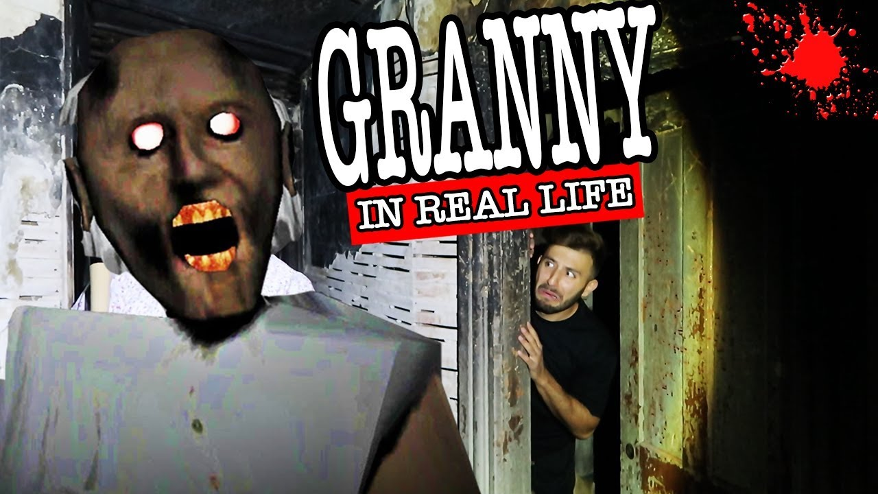 Granny Horror Game In Real Life In A Haunted House At 3am