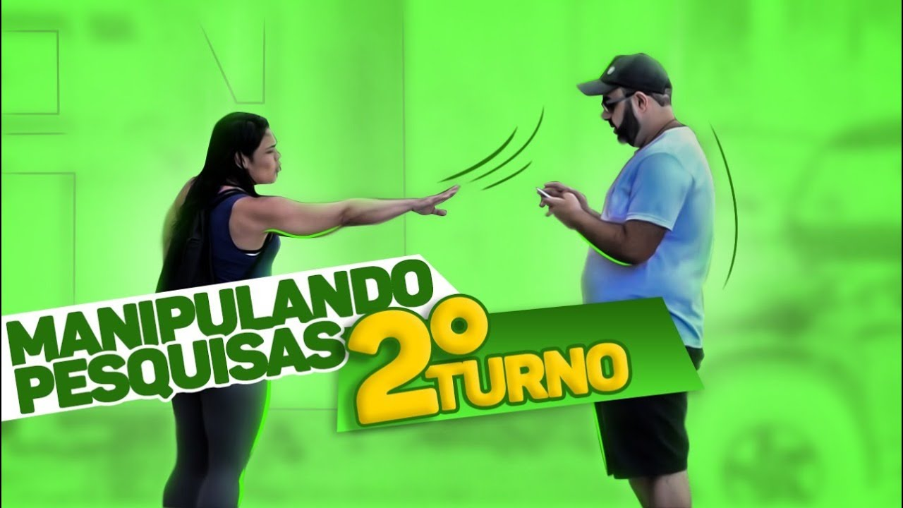 PEGADINHA - BOLSONARO x HADDAD - MANIPULANDO AS ELEIÇÕES - SEGUNDO TURNO - #DESAFIO 27