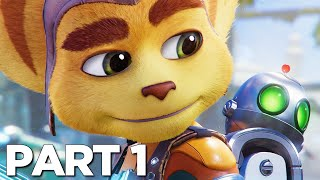 RATCHET AND CLANK RIFT APART PS5 Walkthrough Gameplay Part 1 - INTRO (PlayStation 5)
