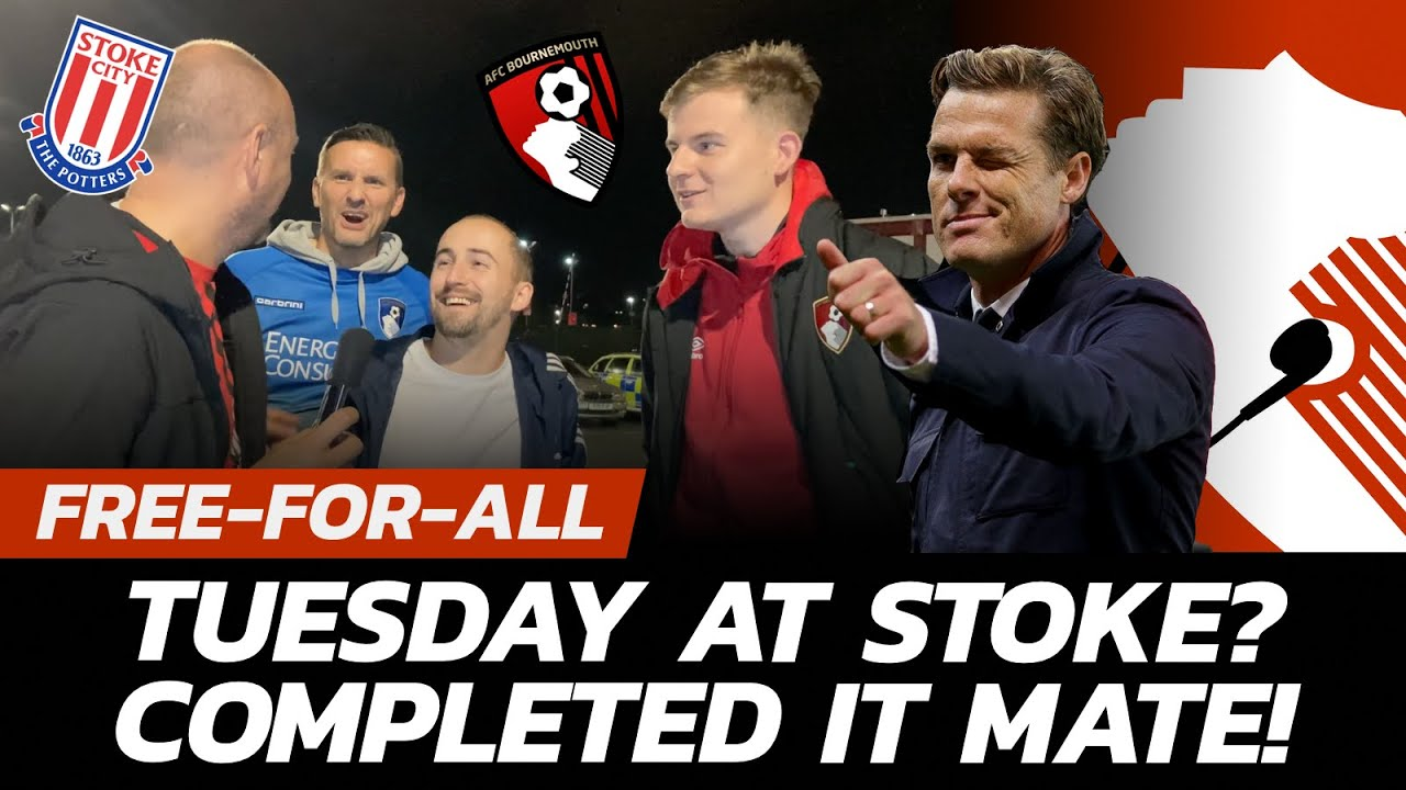Download STOKE ON A WET TUESDAY NIGHT? COMPLETED IT MATE!   Stoke City 0 - 1 AFC Bournemouth - Reaction