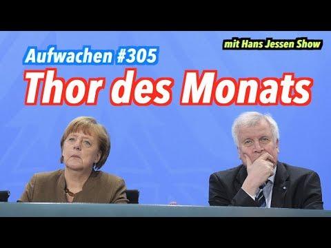 Aufwachen #305: Seehofers Rücktritt vom Rücktritt + Migration aus Afrika (mit Hans Jessen Show)