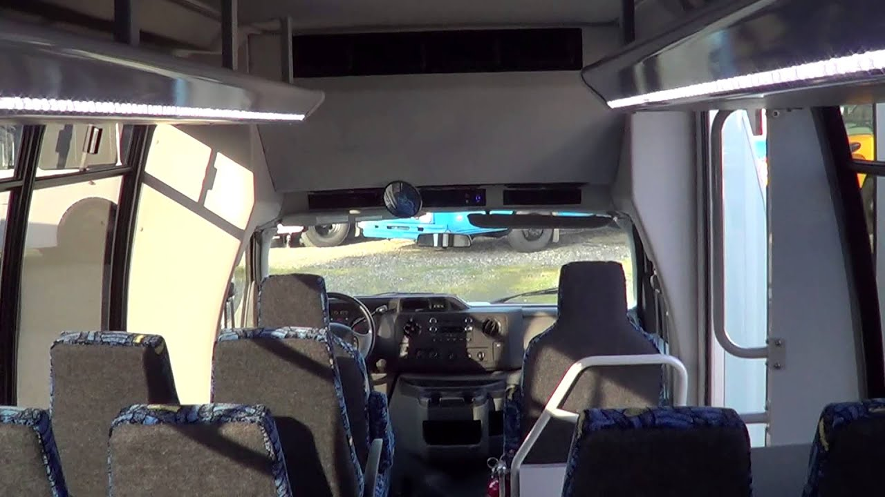 Northwest Bus Sales NEW 2013 Ford Federal 24 Passenger Rear