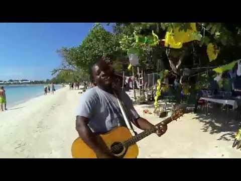 Kevin Sterling sings Over the Rainbow on Bloody Bay in Negril