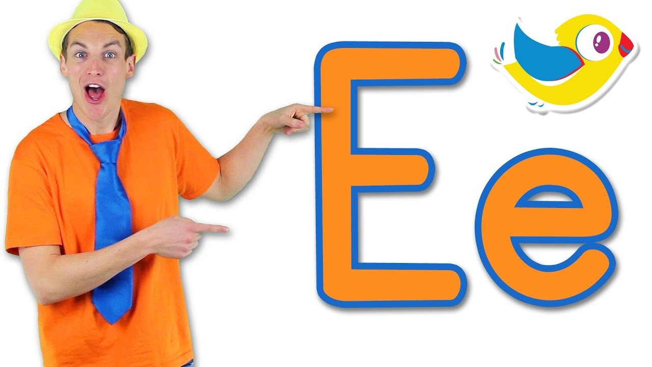 The Letter E Song Learn the Alphabet