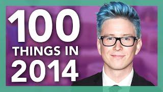 Video 100 Things We Did In 2014 | Tyler Oakley download MP3, 3GP, MP4, WEBM, AVI, FLV Desember 2017