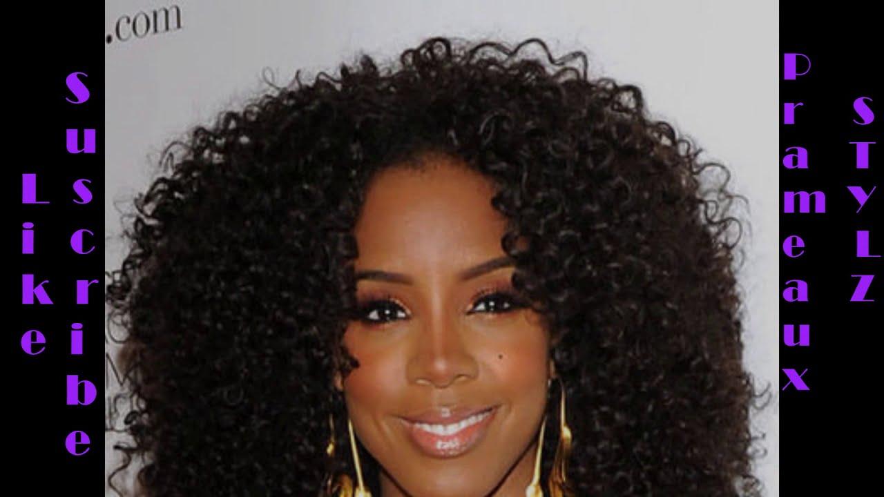 Crochet Hair Tutorial Youtube : How to Crochet Braid- Kelly Rowland Inspired Hair Tutorial - YouTube