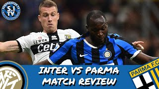 Inter 2-2 Parma Review | Inter Fail To Make The Most Of Their Chances