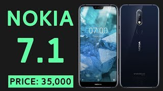 Nokia 7.1 Full Specifications, Release Date & Price in Pakistan