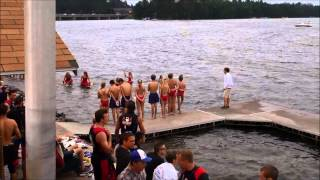 Min-Aqua Bat Show 7 2014 First Half - The worlds longest running amateur ski show Minocqua Wisconsin