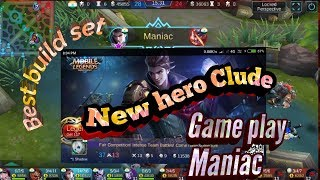 New hero clude game play and best build set / Mobile legend