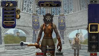 New Worgen Models Malefemale  World Of Warcraft Ptr 8.2.5