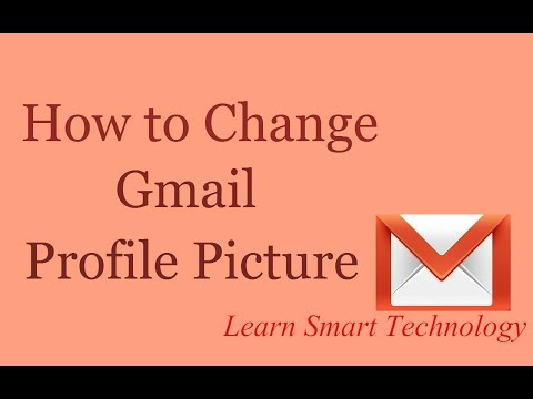 How to Change Gmail/Email Profile Picture 2016