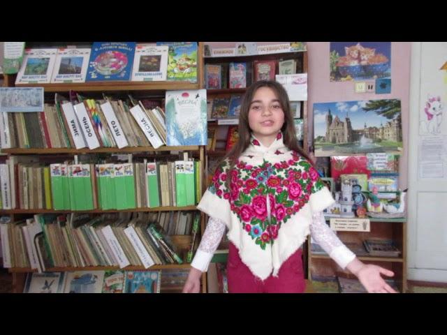 Изображение предпросмотра прочтения – КаринаОхрименко читает произведение «Веснянка» (Русский фольклор )