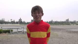 大畑雅章騎手(20150923名古屋ジョッキーカップファン投票抱負)