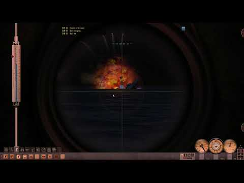 SILENT HUNTER 4 Trigger Maru mod with maximal difficulty: a master stroke one destroyer sink |