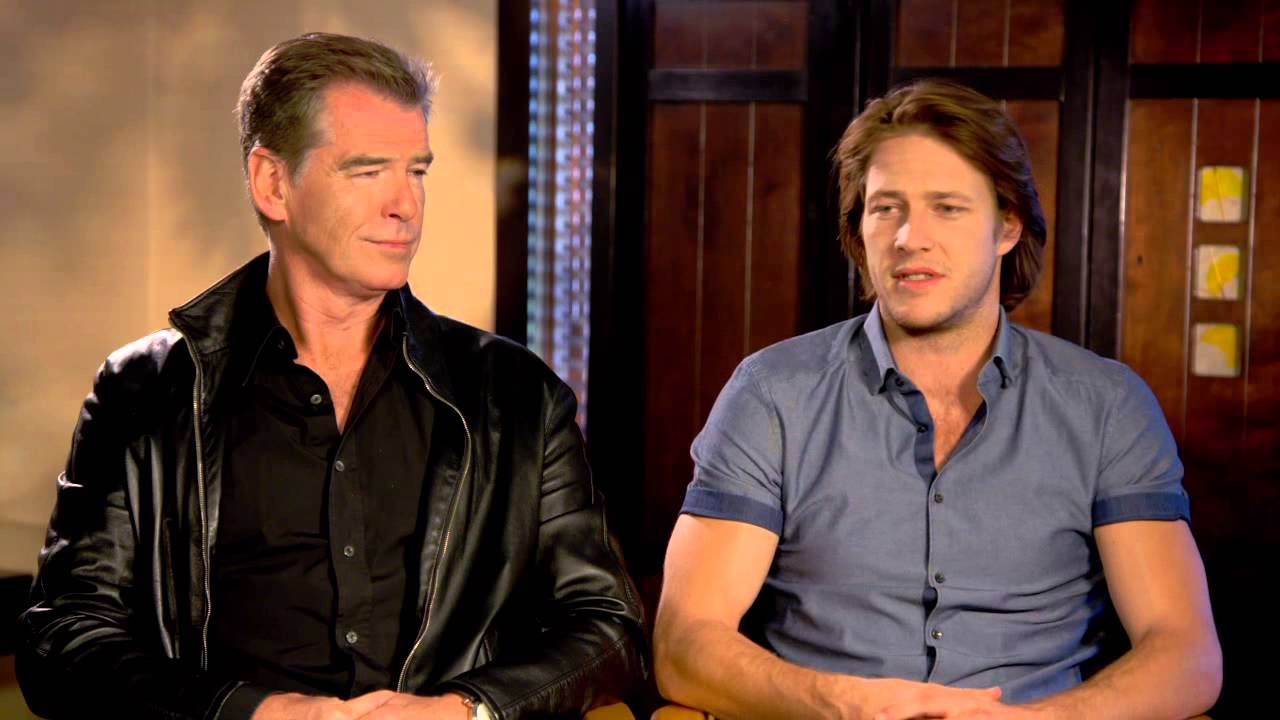 The November Man Pierce Brosnan Peter Devereaux Luke Bracey David Mason Official Interview Youtube