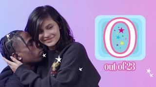 Kylie Quiz - Kylie Jenner asks Travis Scott 23 Questions | GQ